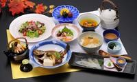 【夕食付】『四季会席』〜穴子・広島牛・鯛飯〜&宿泊プラン