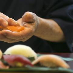 【1日1組限定】「すし兆」カウンター席で楽しむ寿司会席♪