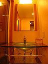 露天風呂付和洋室「風」洗面台