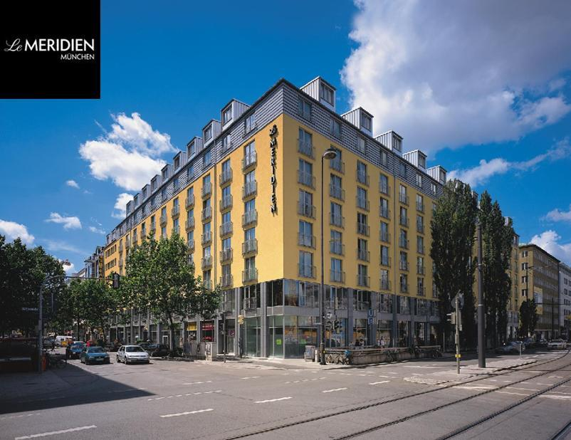 Hotel in Munich Le Mridien Munich - Starwood Hotels Resorts