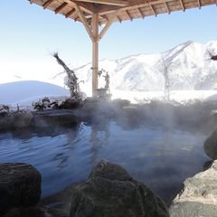 【8つのスキー場◇すべりめぐりチケット付き!】温泉&スキー・スノボを満喫♪ご夕食は和風会席料理。