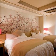 【特別室 花水木】露天風呂+和室2間+リビング+ベットルーム