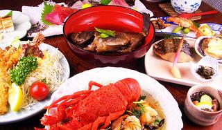 【人気☆】海を一望しながらの海鮮料理部屋食満喫プラン♪【添い寝無料】