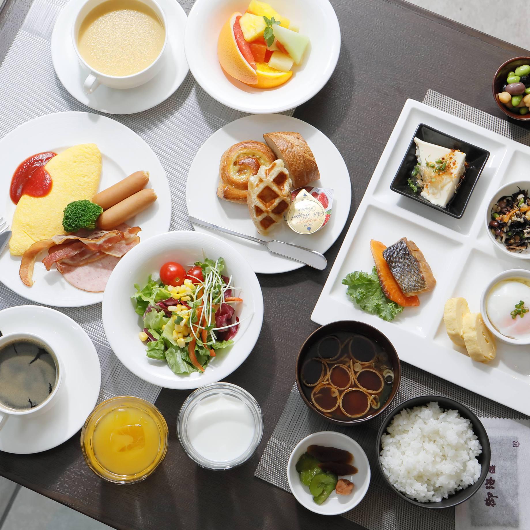 【レギュラープラン】 ご朝食付