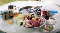 【夏季限定BBQプラン】プライベートビーチを眺めながらみんなでBBQを楽しもう♪【夕食BBQ付】