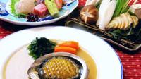 【期間限定】『アワビ懐石膳』しゃぶで食べる鮑は絶品!贅沢海の幸をご堪能ください