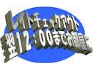 ♪ お昼までのんびり〜レイトチェックアウトプラン〜12:00チェックアウト♪【最大21時間滞在OK】