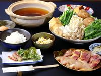 【1泊2食付き】堅田産◆淡海地鶏を思う存分味わう♪鍋プラン