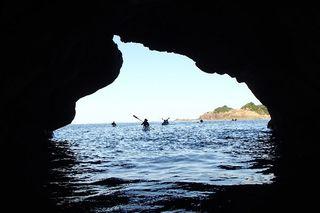 庄屋の夏会席+シーカヤック体験|ジオカヌーとジオパークのグルメを香住で満喫プラン