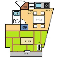 【禁煙】和室30平米・キッチン付き