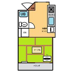 【禁煙】和室20平米・キッチン付き