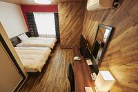 【禁煙】プレミアツイン 17.5平米 ベッド幅120cm