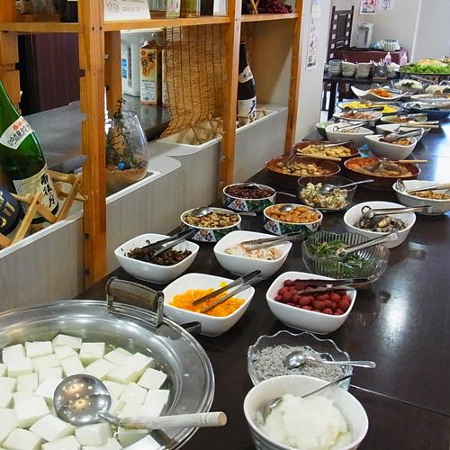 一日の元気は朝食が決め手♪朝食&温泉満喫【朝食付】