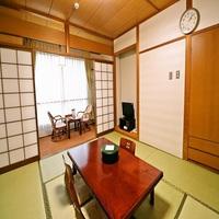 和室8畳(バスなし、トイレ付)【禁煙】