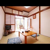 純和風和室6畳 (1名〜2名)◆Wi-Fi利用可能◆