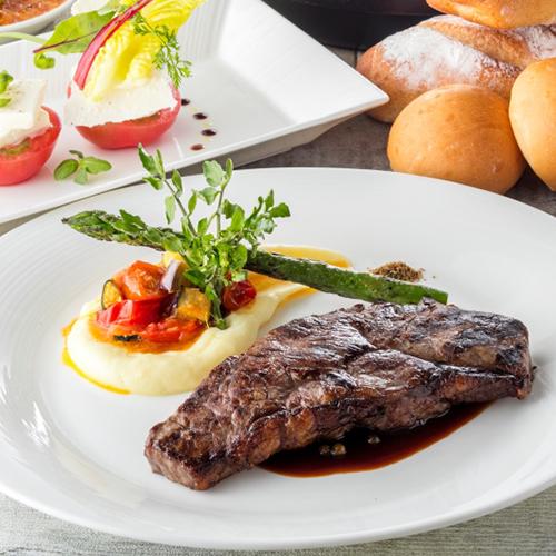 【グリル&ステイ】豪快なグリル料理が魅力のグリロジーディナー!(夕朝食付)