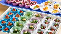スタンダード「ビュッフェプラン」(4・5月) 〜桜鯛の刺身・焼き物の逸品付き〜