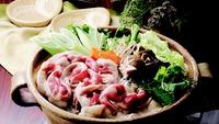 ■ぼたん鍋(赤身肉)■秋〜冬限定!ぼたん鍋発祥の宿で季節の味に舌鼓