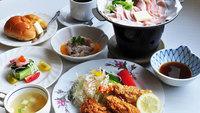 【夕食グレードアップ】オススメ洋定食プラン(夕朝食付)
