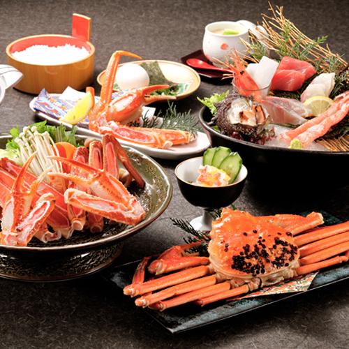 蟹好き必見!!冬のグルメの王様『ずわい蟹』を食べ尽くそう!!【ずわい蟹会席】