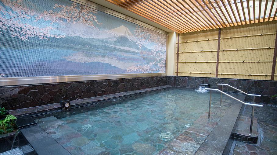 都内で天然温泉が楽しめる!「東京新宿天然温泉テルマー湯」の入館券付きプラン(朝食付き)