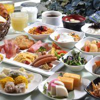 【シンプルステイプラン】朝食付き★40品目以上の和洋食ブッフェでお客様の1日の活力をサポートします★