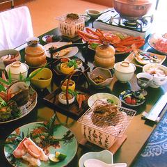 ◎【贅沢な大人旅♪】2人で晩餐 庄内味覚紀行。(食事はゆったり・お部屋だし)