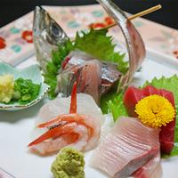 【お料理ライトプラン】夕食は軽め☆ボリュームおさえてお刺身豪華に!お部屋食☆