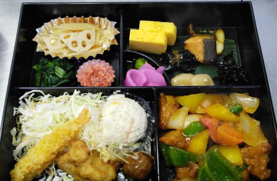 <朝食付>和食と中華の朝食弁当&120cm幅の広々ベッド♪