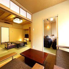 【禁煙】八番館ベッド付和室(10畳+ベッド)