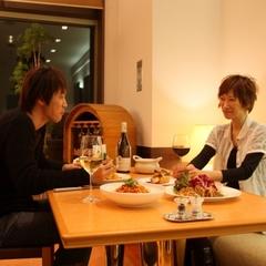 【1泊2食特典付記念日プラン】素敵な夜を大切な人と♪お好みに合わせて選べる夕食(5,000円分)付♪