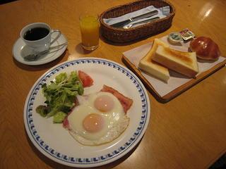 和・洋朝食付き
