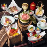 【クレセントPremium】和食料理長の季節の懐石料理コース★料理長おすすめ料理でおもてなし♪