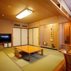 【禁煙】展望風呂付和洋室(90平米)