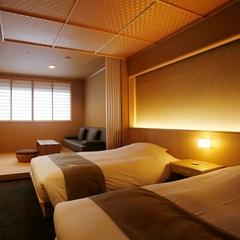 【禁煙】展望風呂付洋室(45平米)