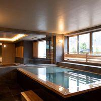 【禁煙】街側の温泉&寝湯付客室「松風」(120平米)