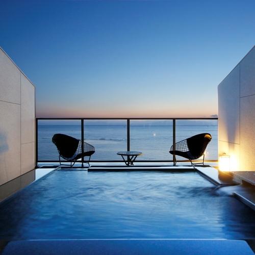 雑誌の表紙に【Sky Suite〜天空の露天風呂付客室】基本プラン☆夕食は当客室限定の特撰会席