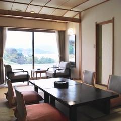 【オーシャン&三四郎島ビュー】10畳<4階以上ベランダ付>R