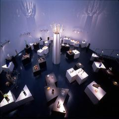 【黄金崎クリスタルパーク入館券付】幻想的な空間でガラスの美しさを体感★夕食は源泉鍋&舟盛の海鮮会席