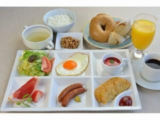 美味 大盛り パン・ご飯おかわり無料♪朝食付きプラン