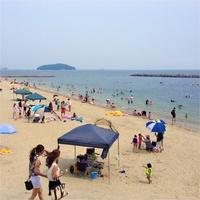 夏休み♪2分でビーチ! 金目鯛姿煮&アワビ&牛肉陶板焼き!欲張りグルメ【三大食・海水浴・観劇無】