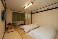 【禁煙】和室二人部屋(バス・トイレ無し)