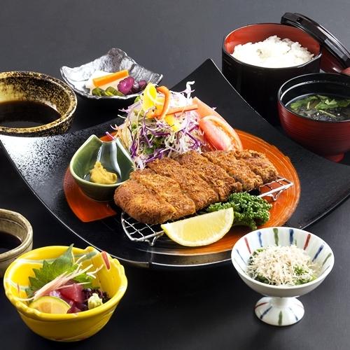 鹿児島産黒豚とんかつ御膳の夕食◇朝夕2食付プラン