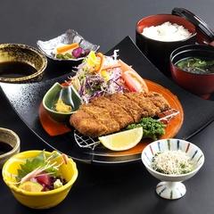 鹿児島産黒豚とんかつ御膳の夕食◇朝夕2食付プラン♪