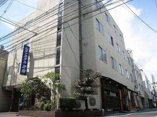 シティホテル池田 外観