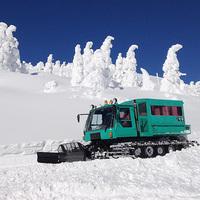 【みやぎ蔵王の樹氷巡り】雪上車で冬の体験付●あったか温泉満喫●夕朝食付