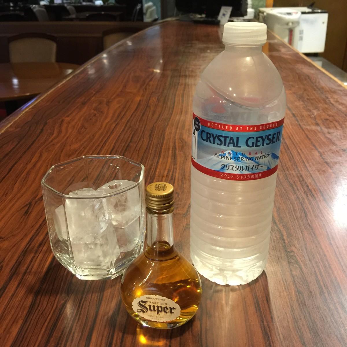 ウィスキーミニボトル付ほろ酔い宿泊プラン