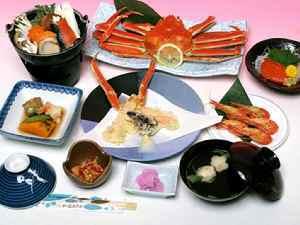 ◆ちょっと豪華に◆北海シマエビ&ズワイガニの競演!