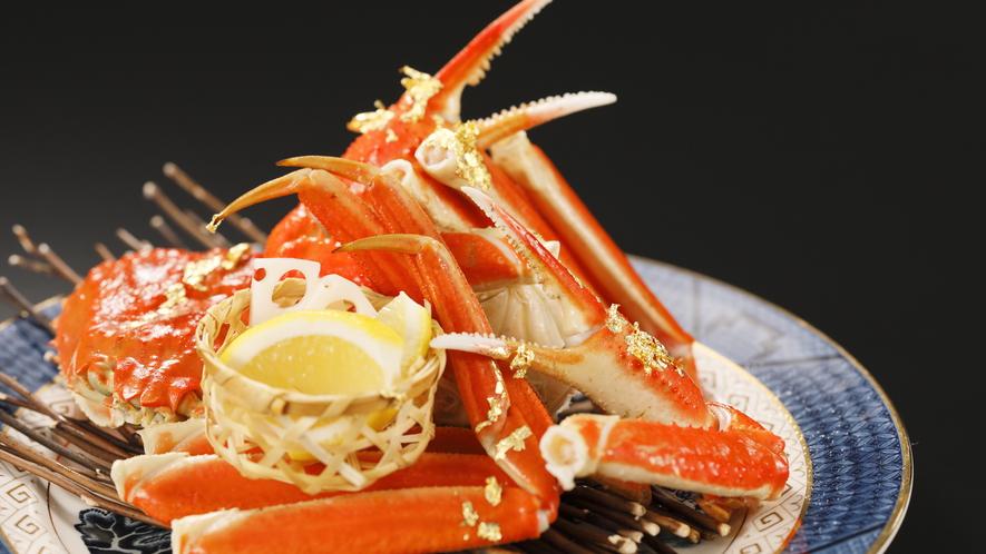 【美食プラン】ズワイガニ会席〜かに尽くし!で冬のおもてなし〜朝夕2食付
