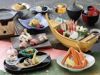 【蟹・お肉食べ比べ・舟盛】北陸のうまいもん祭りプラン
